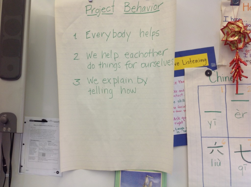 project behavior