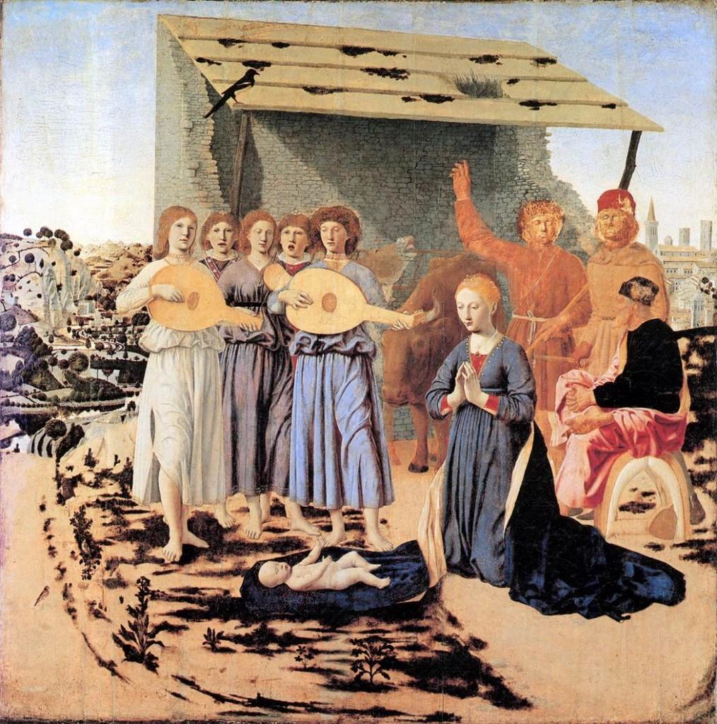 Piero The Nativity